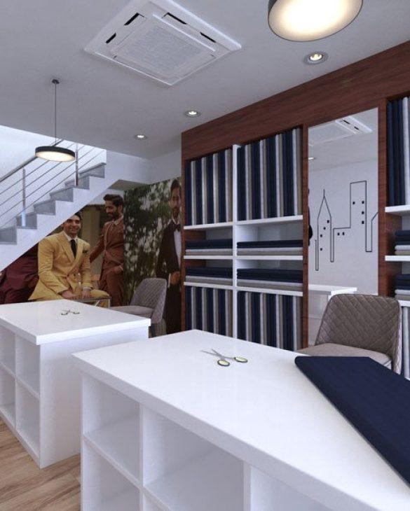 Luxury-cloth-shop-interior-Designer -in-udaipur